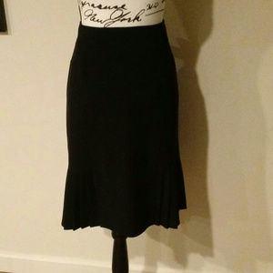 Dress Barn Black Career Skirt 12